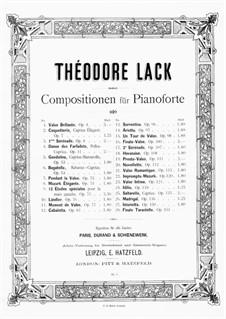 Istoriretta, Op.150: For piano by Theodore Lack