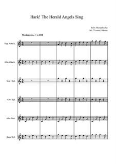 Instrumental version: For orff orchestra by Felix Mendelssohn-Bartholdy
