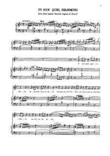 Arsilda regina di Ponto: Aria 'Io son quel gelsomino' by Antonio Vivaldi