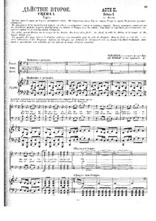 Mlada. Opera: Act II by Nikolai Rimsky-Korsakov