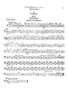 Mlada. Suite: Percussion parts by Nikolai Rimsky-Korsakov