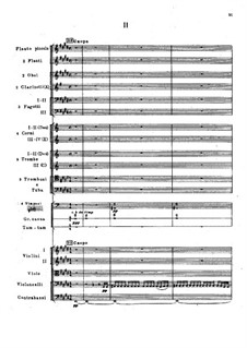 Symphony No.2 in F Sharp Minor 'Antar', Op.9: Movement II by Nikolai Rimsky-Korsakov