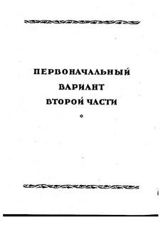 Symphony No.2 in F Sharp Minor 'Antar', Op.9: Movement II, early version by Nikolai Rimsky-Korsakov