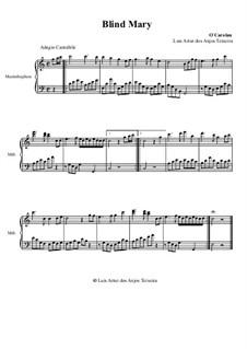 Blind Mary: For marimba by Turlough O'Carolan
