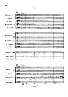 Symphony No.2 in F Sharp Minor 'Antar', Op.9: Movement II, third version by Nikolai Rimsky-Korsakov