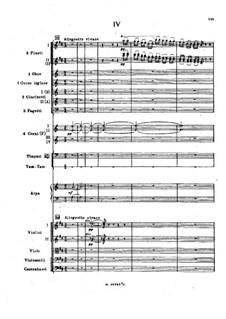 Symphony No.2 in F Sharp Minor 'Antar', Op.9: Movement IV, third version by Nikolai Rimsky-Korsakov