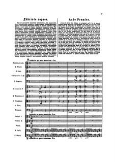 The Golden Cockerel. Opera: Act I by Nikolai Rimsky-Korsakov