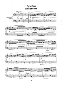 Little Streams: For accordion (or bayan) by Eugen Doga