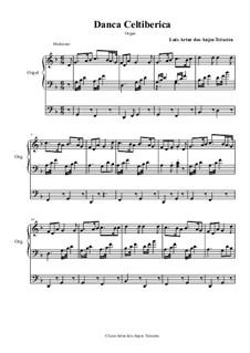Celtiberian Dance: For organ - F by Anjos Teixeira