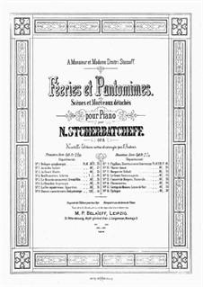 Féeries et Pantomimes, Op.8: Volume I by Nikolai Shcherbachov