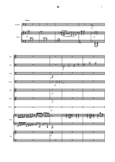 Divertismento for piano and chamber ensemble: Movement II by Vladimir Polionny