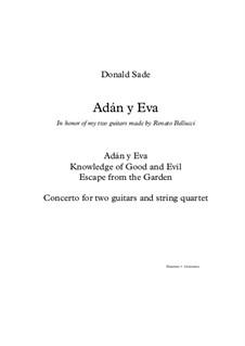 Adán y Eva: Score by Donald Sade