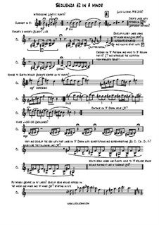 Sequenza No.2 in A minor: Sequenza No.2 in A minor by Luca Luciano
