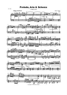 Prelude, Aria and Scherzo, Op.20: Prelude, Aria and Scherzo by Bruno Vlahek