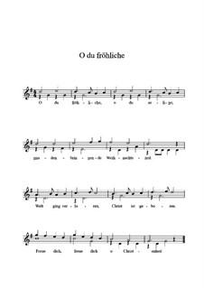 O Sanctissima (Oh, How Joyfully): For guitar by folklore