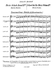 School for the Horn: Part IVa by Josef Schantl
