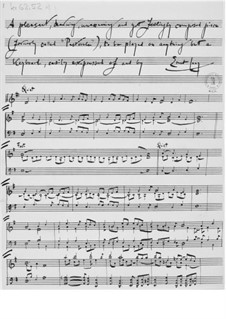 Pastorale (to be played on anything but a keyboard): Pastorale (to be played on anything but a keyboard) by Ernst Levy