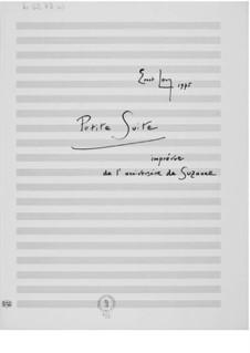 Petite suite imprévue de l'anniversaire de Suzanne: Petite suite imprévue de l'anniversaire de Suzanne by Ernst Levy