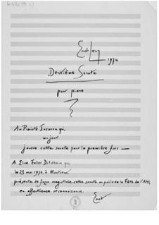 Piano Sonata No.2: Piano Sonata No.2 by Ernst Levy