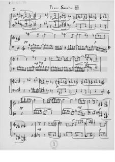 Piano Sonata No.7: Piano Sonata No.7 by Ernst Levy