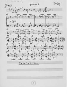 Cantata No.5 'Das Göttliche': Orchestral Parts by Ernst Levy