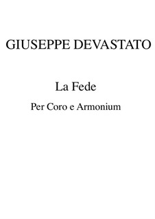 La fede: La fede by Giuseppe Devastato