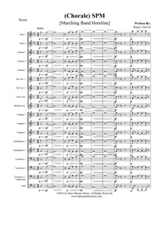 Chorale SPM: Marching band by Roger Garcia