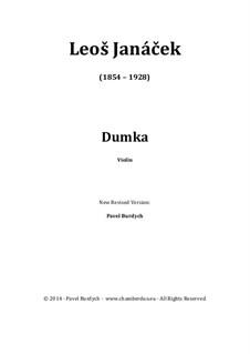 Dumka: Dumka by Leoš Janáček