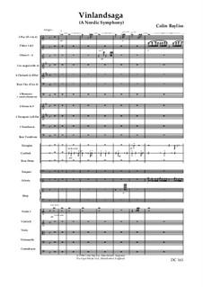 Vinlandsaga – A Nordic Symphony (Symphony No.3), B15: Score only by Colin Bayliss