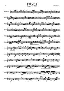 Heft I: Theme 1 by Stafford King