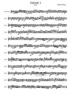 Heft I: Theme 3 by Stafford King