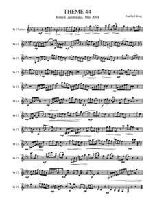 Heft V: Theme 44 by Stafford King