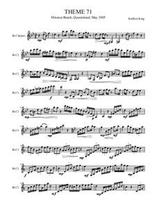 Heft VIII: Theme 71 by Stafford King