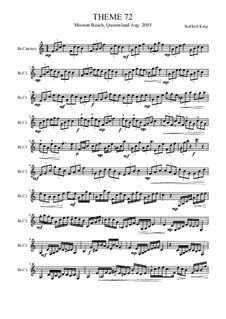Heft VIII: Theme 72 by Stafford King