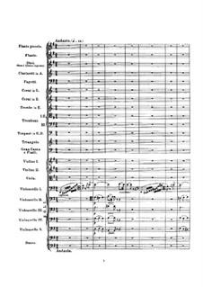 Overture: Full score by Gioacchino Rossini