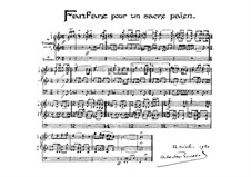 Fanfare pour un sacre païen: Fanfare pour un sacre païen by Albert Roussel