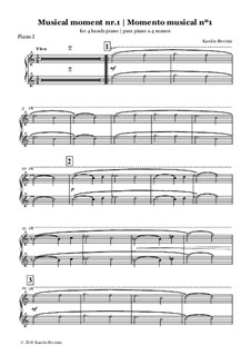 2 momentos musicales: 2 momentos musicales by Karolis Biveinis