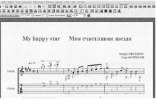 My happy star: My happy star by Sergei Orekhov