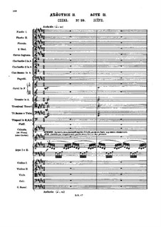 No.10 Scène (Le palais enchanté de Confiturenburg): Full score by Pyotr Tchaikovsky