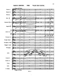 No.13 Waltz of the Flowers: Full score by Pyotr Tchaikovsky