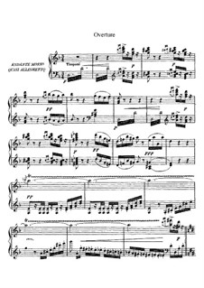 Alzira: Overture and Prologue. Arrangement for voices and piano by Giuseppe Verdi