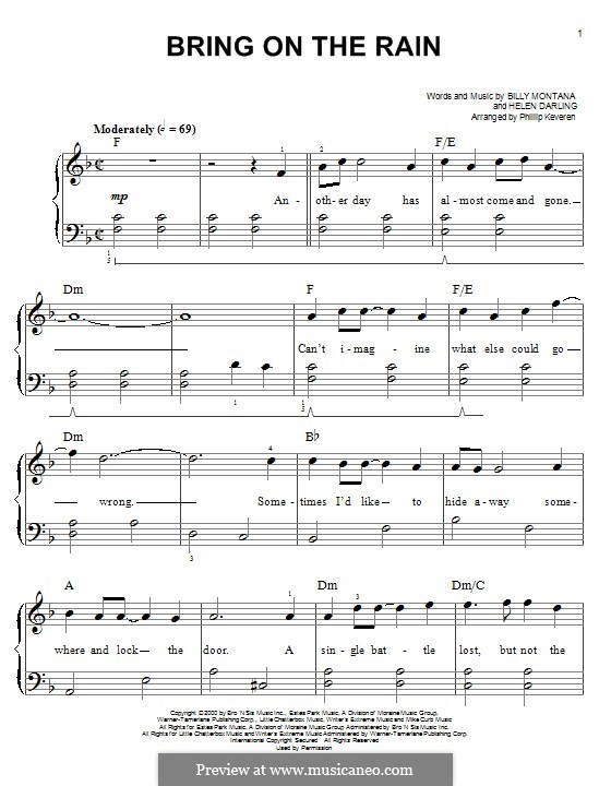 Bring On The Rain Jo Dee Messina With Tim Mcgraw For Piano By: Bring The Rain Sheet Music At Alzheimers-prions.com
