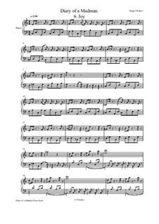 Diary of a Madman Piano Suite: No.6 Joy by Sergei Noskov