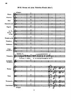 Sempre libera: Full score by Giuseppe Verdi