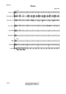 Whisper, Op.243: Whisper by JHFP