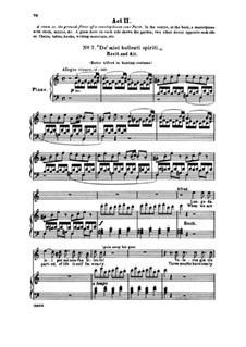 Fragments: Act II No.7 De' miei bollenti spiriti, for voices and piano by Giuseppe Verdi
