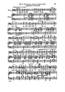 Fragments: Act II No.15 Di sprezzo degno se stesso rende, for soloists, choir and piano by Giuseppe Verdi
