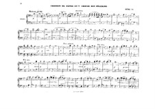 Act I. Shepherd's Song and Pilgrim's Choir: Arrangement for piano four hands by Richard Wagner