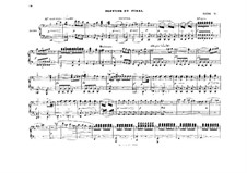 Act I. Septet and Finale: For piano four hands – parts by Richard Wagner