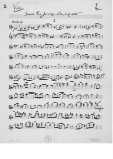 Trio No.2 for Violin, Viola and Cello: Parts by Ernst Levy